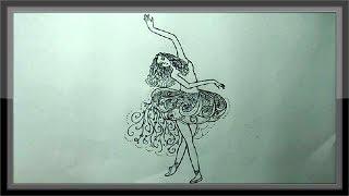 pencil simple drawings drawing dancing easy paintingvalley