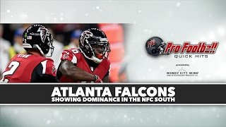 PFW Quick Hits: Are the Atlanta Falcons for real?