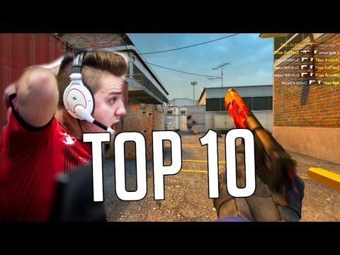 CS:GO - NiKo - Top 10 PRO PLAYS! (Insane deagle, 1 Taps!) ESL MONTAGE!