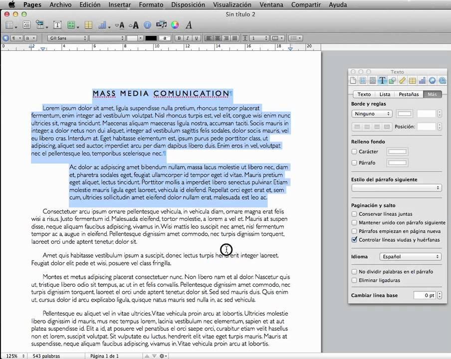 Segundo paquete de actualizaciones de Microsoft Office 2011 para Mac