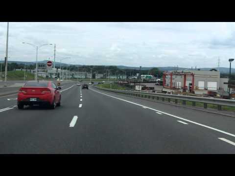 Robert Bourassa Expressway (Autoroute 740) northbound