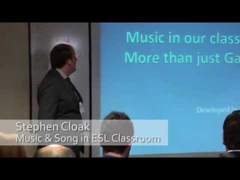 Music in the ESL Classroom by Stephen Cloak