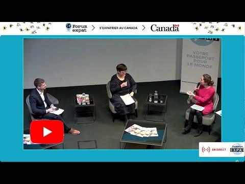 """FORUM EXPAT 2020 - Conférence """"S'expatrier au Canada"""""""