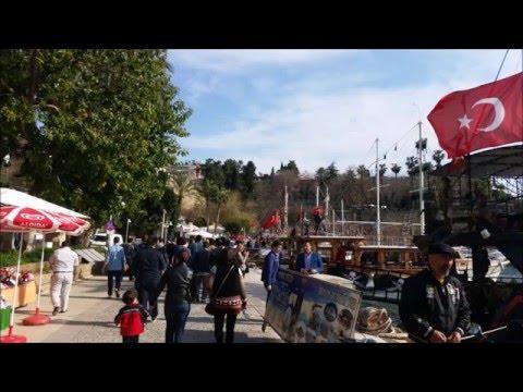 Tourist Attractions in Antalya Turkey 2016