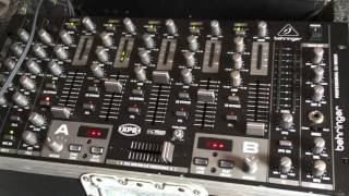 Behringer VMX1000USB Professional Mixer Unboxing, Setup and Features