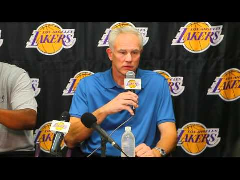 Mitch Kupchak, Mike Brown Discuss New Season, Roster