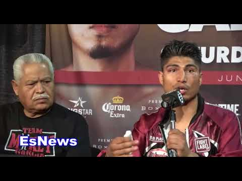 Mikey Garcia Reveals Who He Wants NEXT Full Post Fight Press Conference EsNews Boxing
