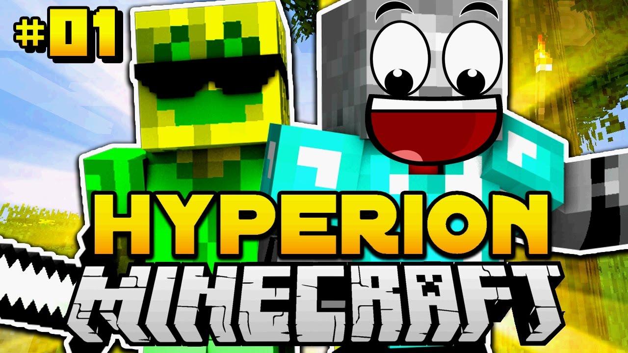 Das HARDCORE DUO Startet DURCH Minecraft Hyperion Deutsch - Minecraft hyperion spielen