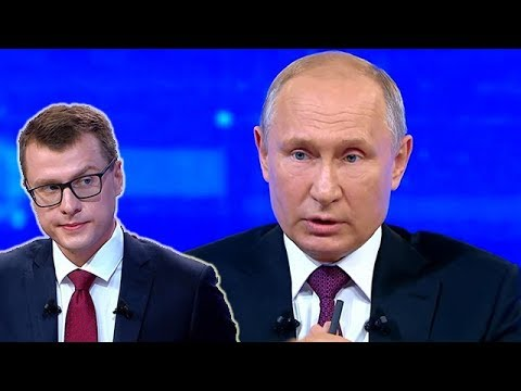Путин опозорился на прямой линии.