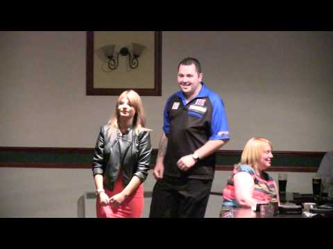 6 Towns Open Darts Final - Walk ons Nick Fullwell vs Andy Pearce