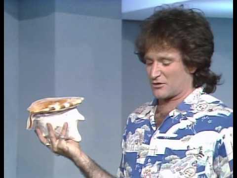 Robin Williams' first time in Australia   1979