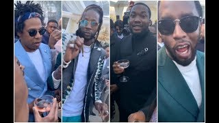 Celebs And Rappers React To 2019 Roc Nation Brunch Beyonce Jay Z Meek Mill 2 Chainz Yo Gotti Diddy