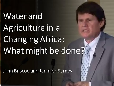 Water and Agriculture in a Changing Africa: What might be done?