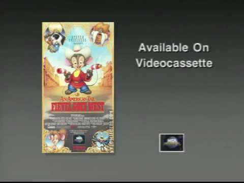 An American Tail; Fievel Goes West (1991) Trailer (VHS Capture)