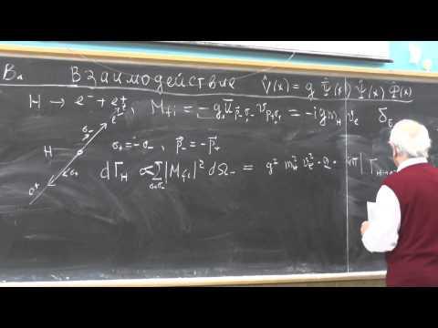 Физика элементарных частиц, В.Г. Сербо. Лекция 9 | Physics of elementary particles. V. G. Serbo - 9.