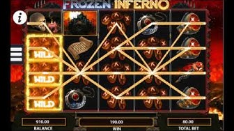 WMS - Frozen Inferno Mobile Slot - Moving Wilds Every Spin!