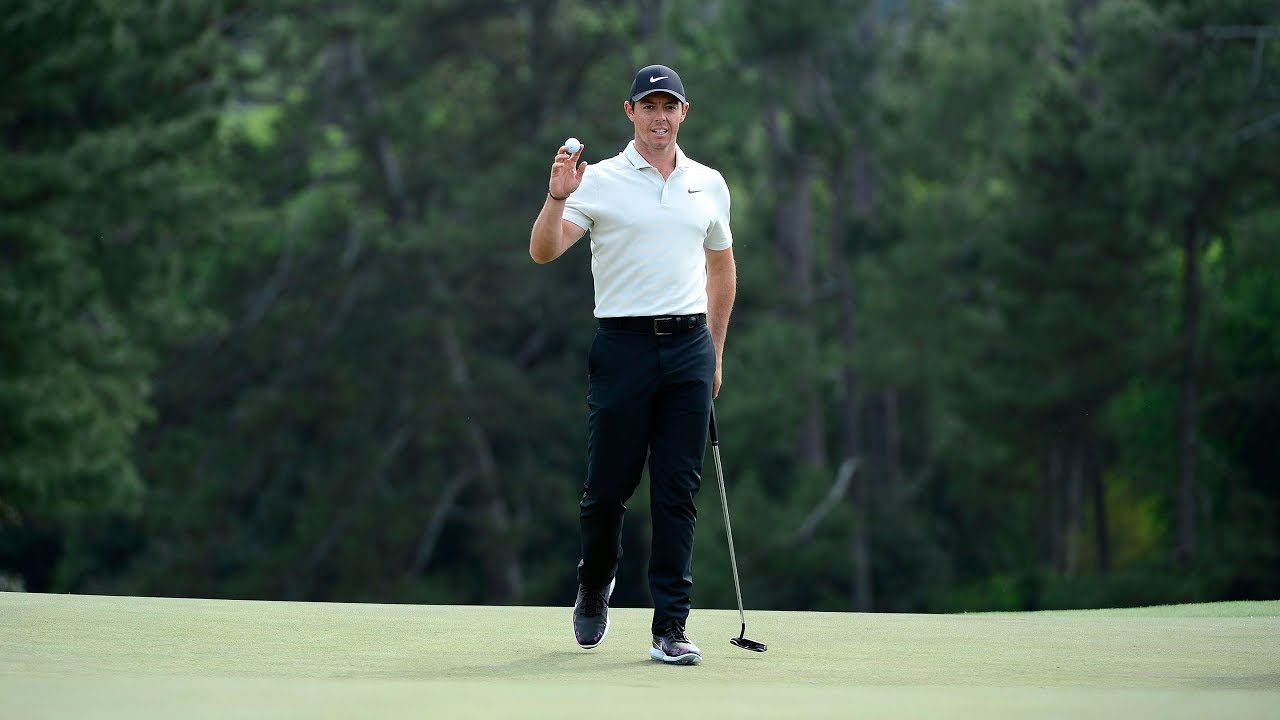 Rory McIlroy's Second Round in Under Three Minutes