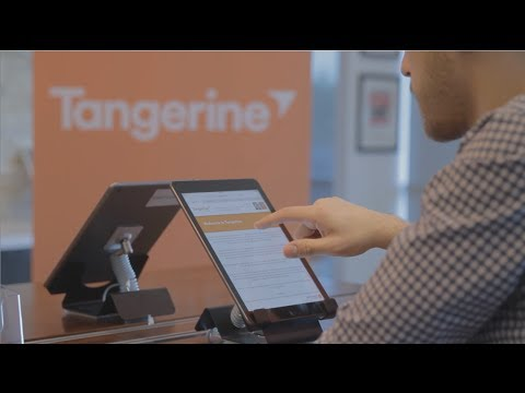 Welcome to Tangerine Bank