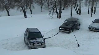 OFFroad Achinsk Покатушки 19.01.2013 видео 8 (Роман_С)