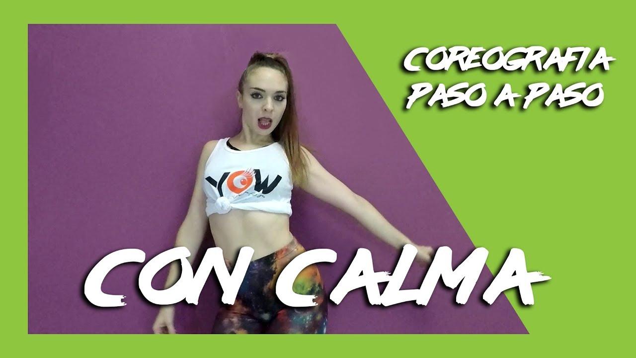 Twerk Coreografía Paso A Paso Con Calma Daddy Yankee Ft Snow Youtube