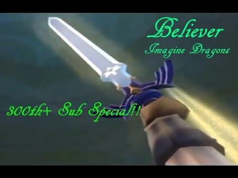 Believer-Zelda MV 300+ Sub Special! ImagineDragons