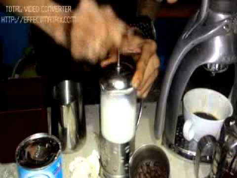 Latte Art Manual Menggunakan Susu Kental Manis (SKM) 45 Coffee Shop By Gerry