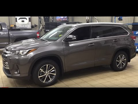 2017 Toyota Highlander Xle Awd Review