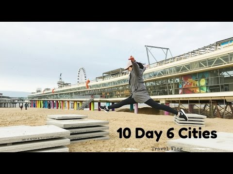10 Day 6 Cities - Netherlands Belgium Travel Vlog