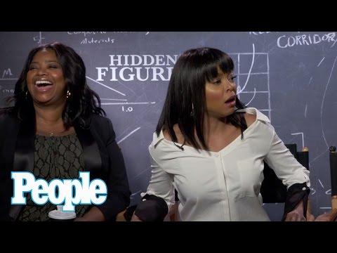 Hidden Figures: Taraji P. Henson Reveals Octavia Spencer's Hidden Talent   People NOW   People