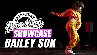 Bailey Sok   Fair Play Dance Camp SHOWCASE 2019   Powered by Podlaskie
