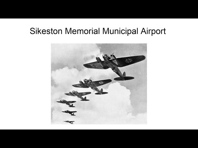 Sikeston Memorial Municipal Airport