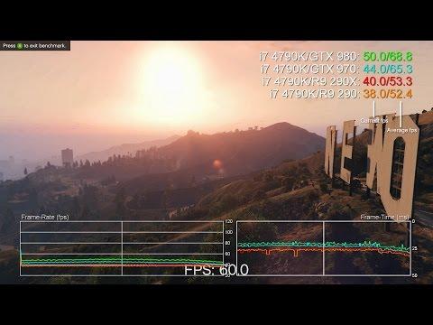 Grand Theft Auto 5 PC: GTX 970/980 Vs R9 290/R9 290X 1080p Benchmarks