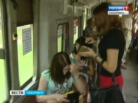 Вести-Хабаровск. Автобусы без кондукторов