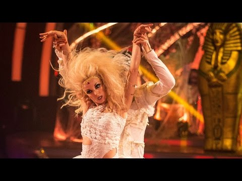 Helen George & Aljaz Skorjanec Samba to 'Take Your Mama'  Strictly Come Dancing:  2015