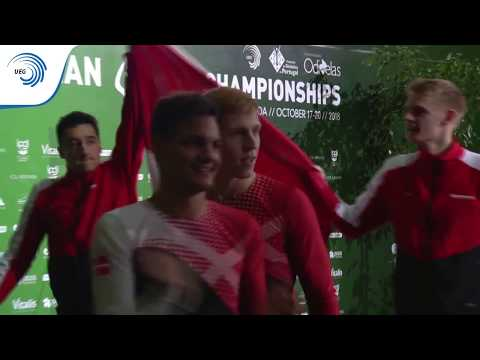 Denmark - 2018 TeamGym European Champions, Senior Men's Team
