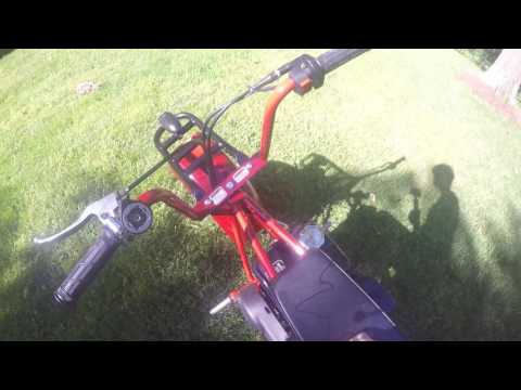 Coleman ct200u mini bike review(HD)
