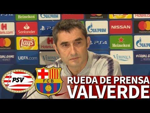 PSV- Barcelona | Rueda de prensa de Valverde | Diario AS
