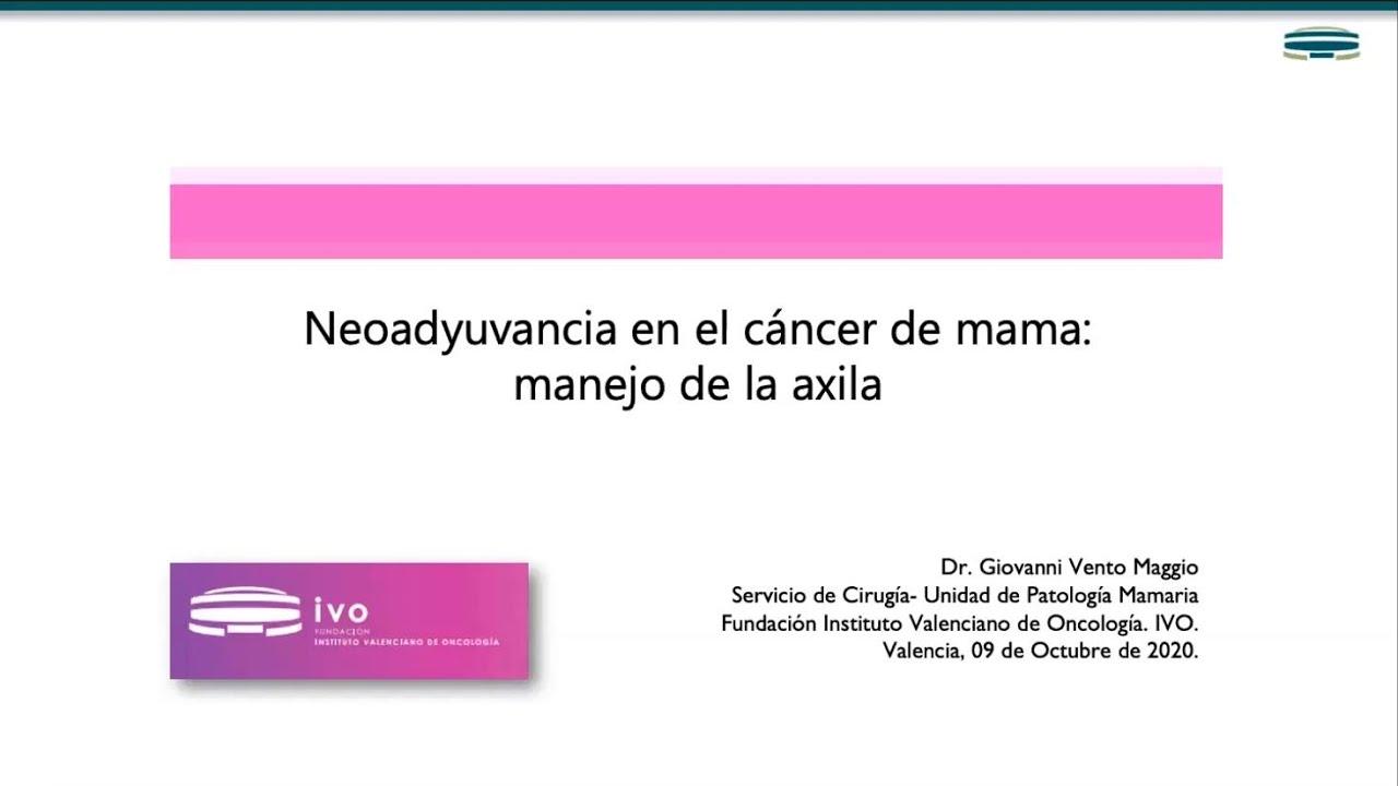 Neoadyuvancia en cáncer de mama