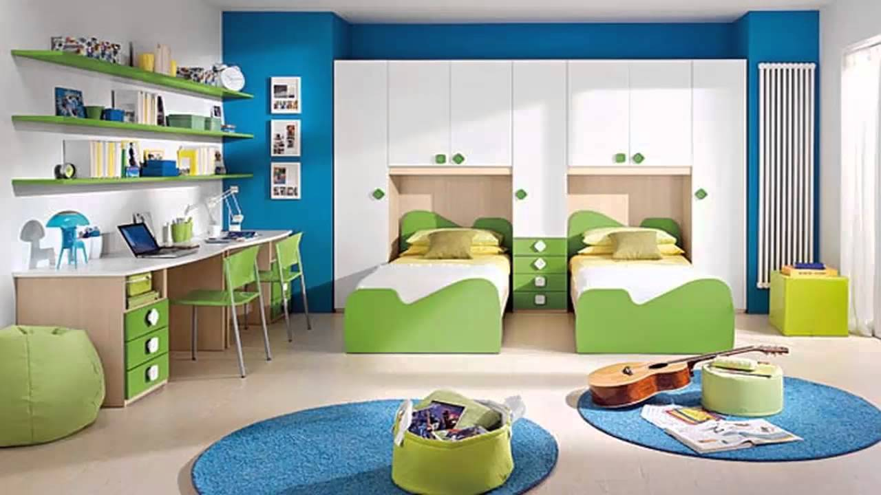 غرف نوم لطفلين       YouTube