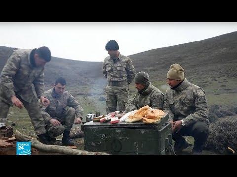 جنود أتراك مصممون على الوصول إلى عفرين السورية