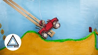 Hill Climb Cardboard Racing | DIY