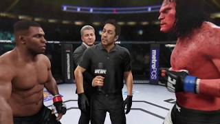 Mike Tyson vs. Hellboy (EA Sports UFC 2) - CPU vs. CPU