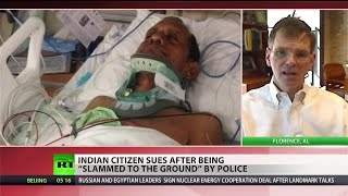Alabama police paralyze Indian man out for walk