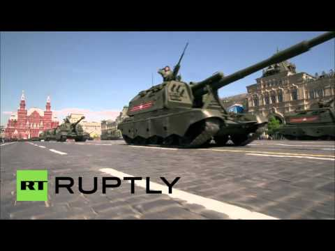 Russia: Armata hardware rolls through Red Square alongside WWII tanks