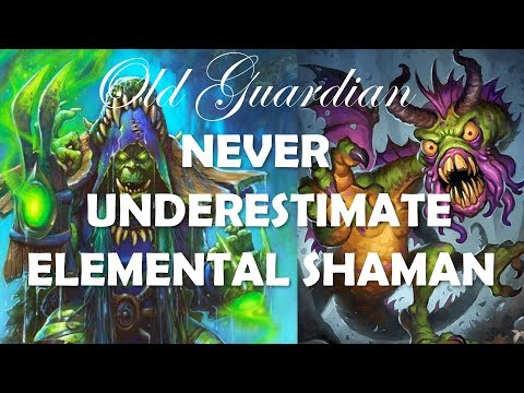 Never underestimate Elemental Shaman (Hearthstone Rastakhan Even Control Warlock game)