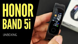 hONOR BAND 5i - Unboxing (with Subtitle)