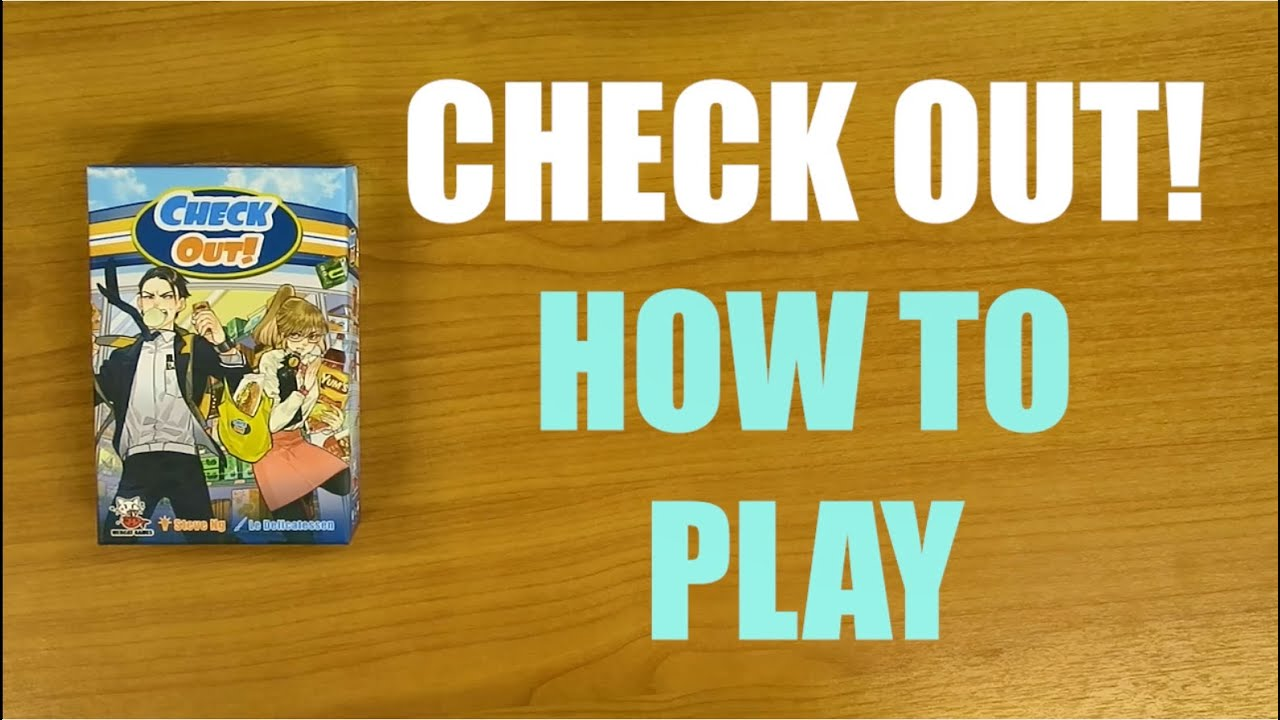 How to Play: Check Out! The Convenience Store Game