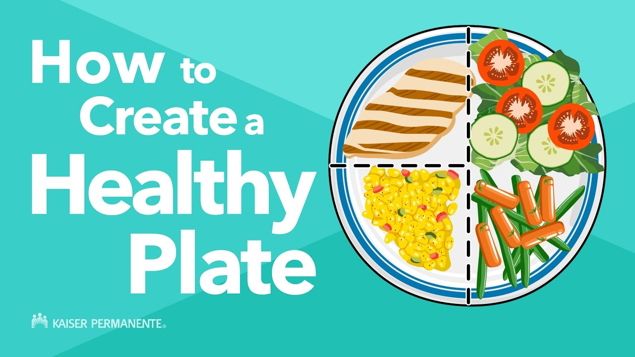 How to create a healthy plate youtube for How to make creative drawings