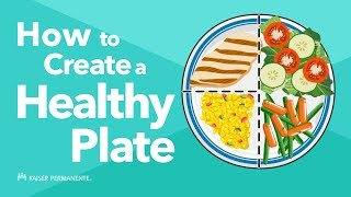 A healthy plate is an easy way to control portion sizes. fill half your with nonstarchy vegetables, one quarter lean protein, and whole g...