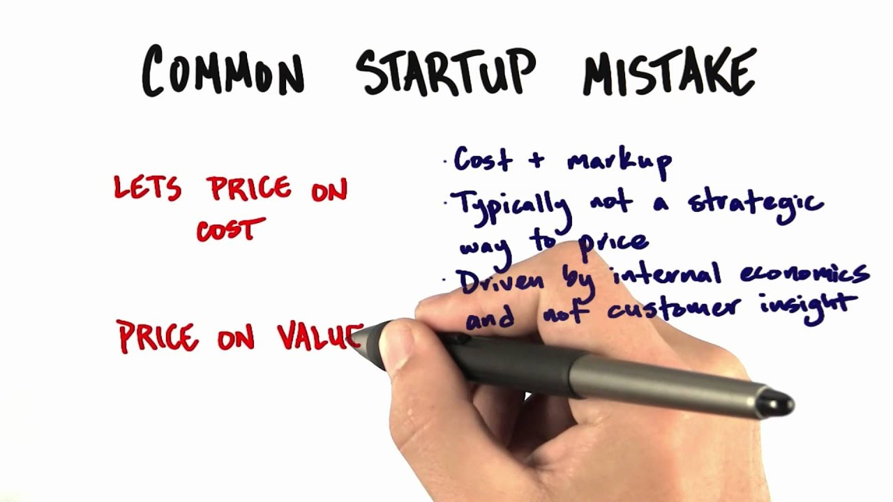 Common Startup Mistakes - How to Build a Startup